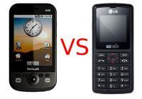 โทรศัพท์มือถือ VS LG KG270