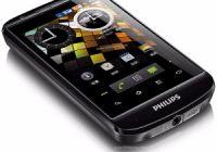 Обзор телефона Philips W626